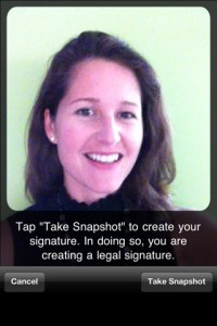 Vignature - iPhone App Screenshot