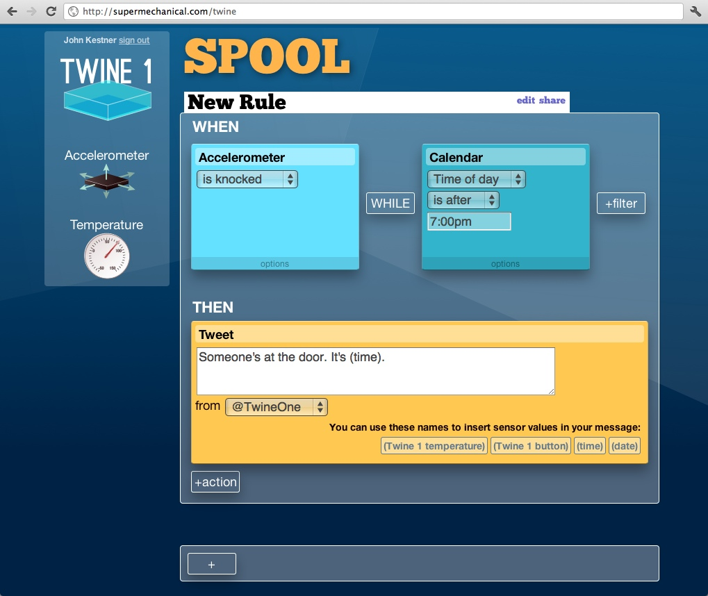 Internet of Things startup Twine