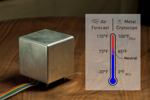 The Cryoscope lets you feel tomorrow's weather