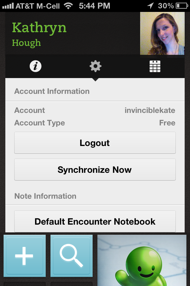 evernote hello app screenshot 3