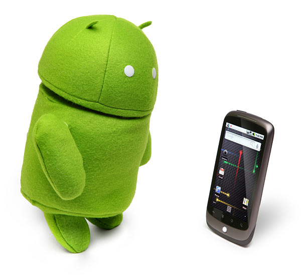 android plush robot