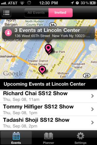 fashion gps radar app screenshot