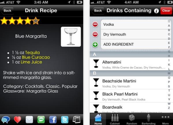 mixologist app screenshot
