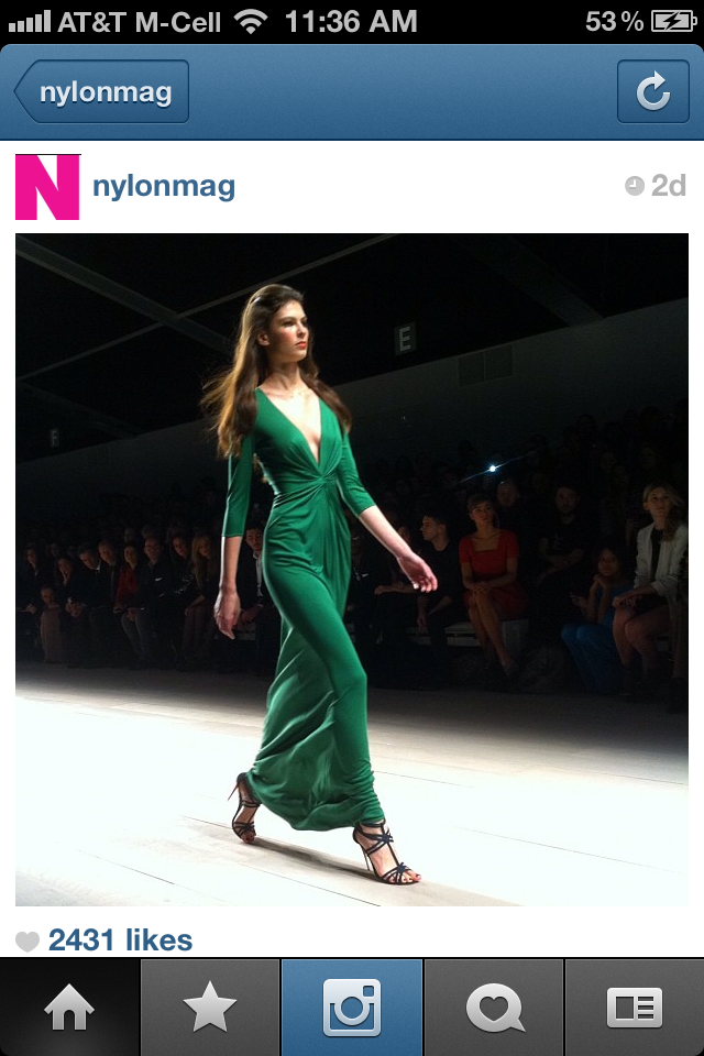 nylon magazine instagram