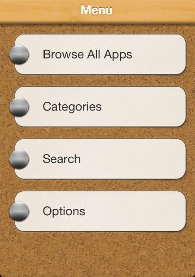 see the app screenshot iphone menu