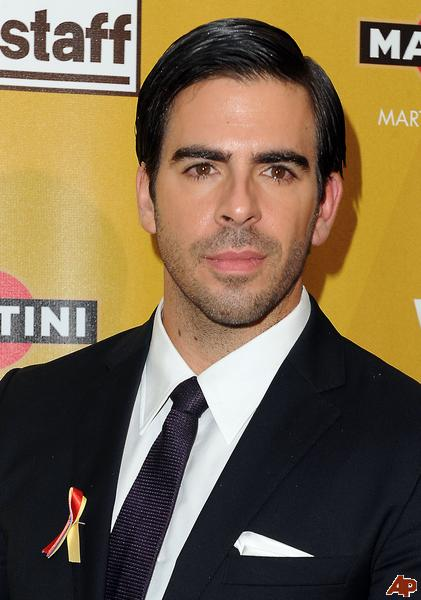 Writer/director/actor Eli Roth