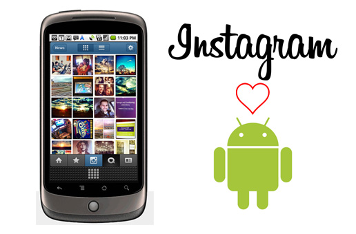 Slide image for Instagram Android at SXSW