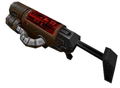 Railgun from id's Quake series