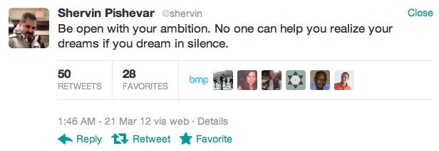 shervin twitter