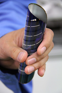 Flexible silicon panel demonstrated