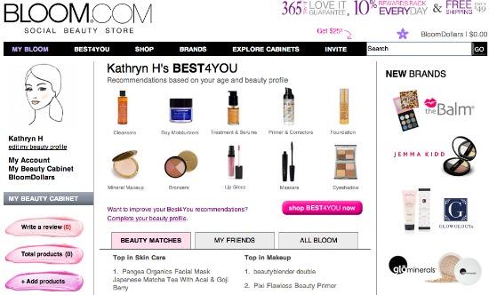 bloom.com screenshot