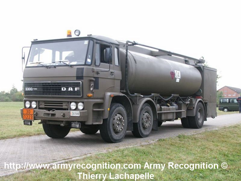 An Army Fuel Truck