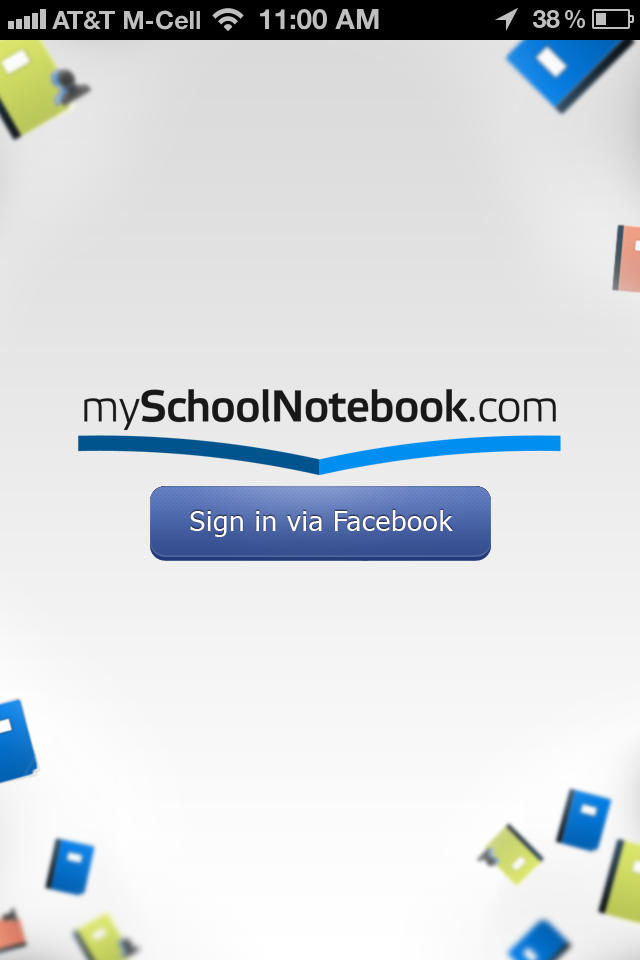 myschoolnotebook.com app