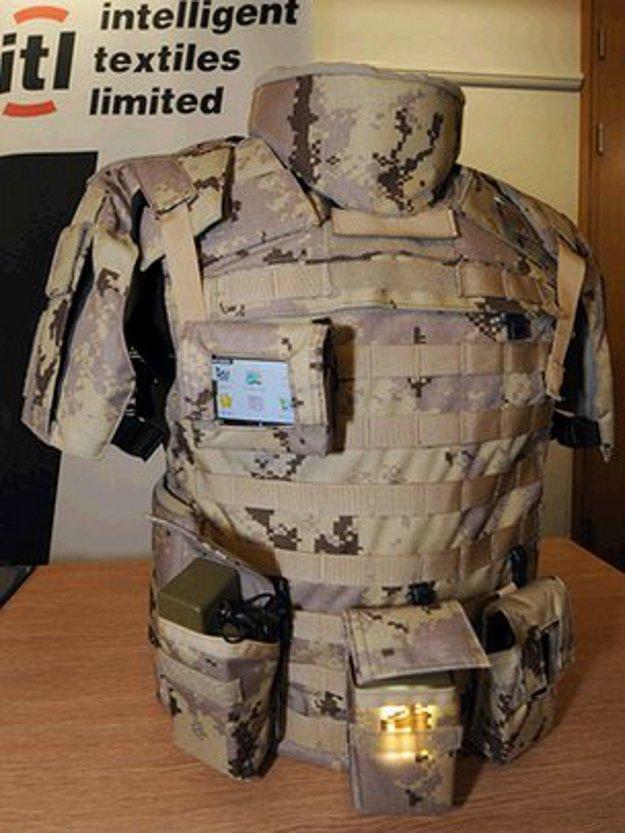 Intelligent Textiles' new conductive military uniform
