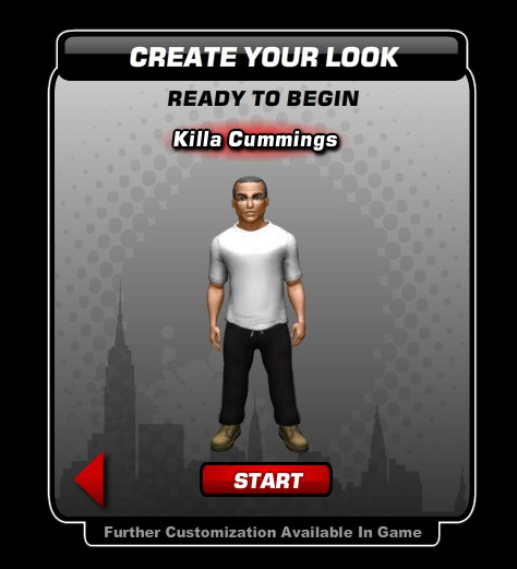 My avatar in Jay-Z's Empire Facebook game