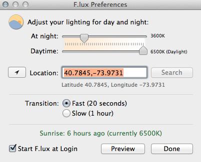f.lux screenshot