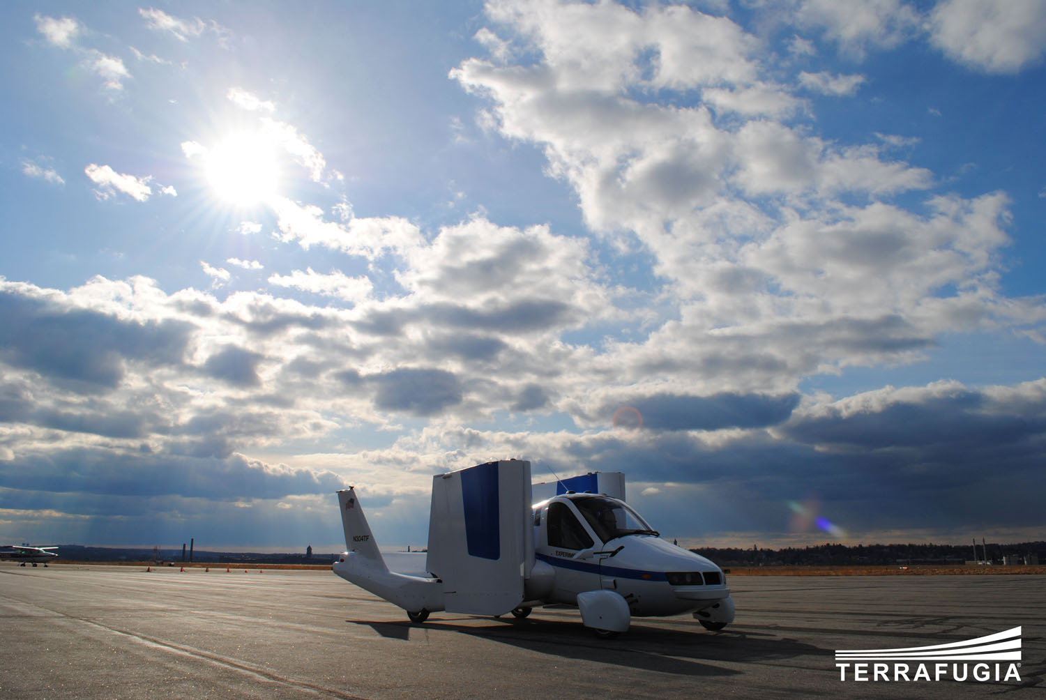 Terrafugia's Transition flying car