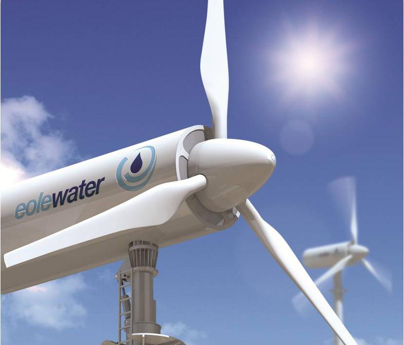 Eolo Water's WMS1000 Wind Turbine