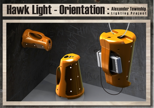 The many orientations of the Hawk Light