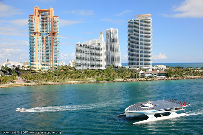 Planet Solar's solar powered boat