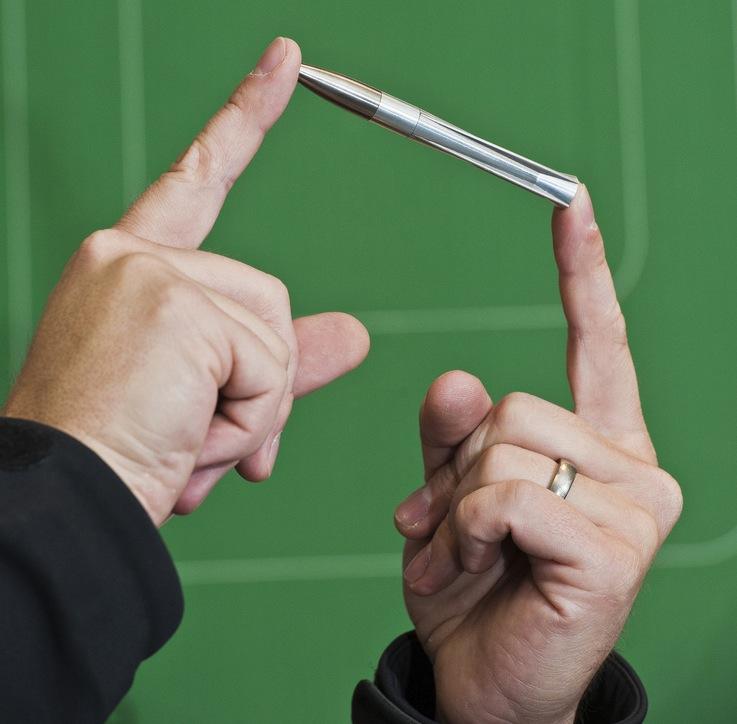 Sandia Labs' 4 inch smart bullet