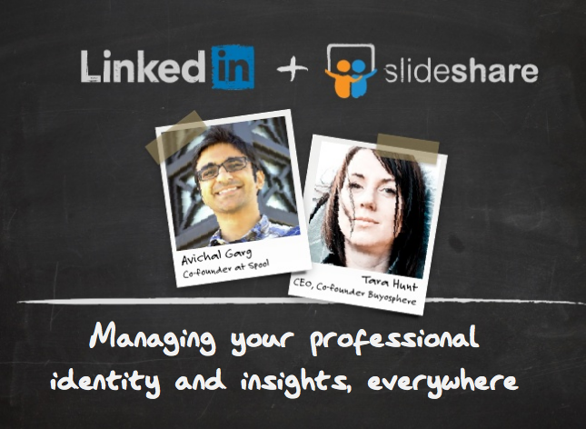 LinkedIn and SlideShare