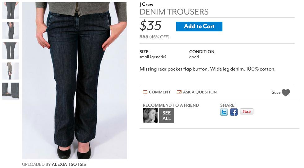 alexia's jeans