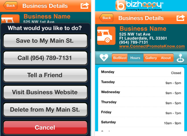 bizhappy screenshots