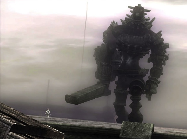 PS2 game Shadow of the Colossus