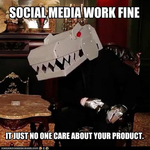 social media work fine
