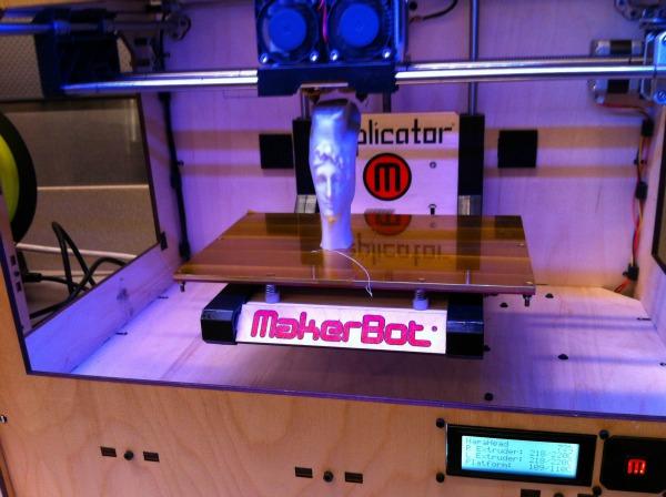 Makerbot printing
