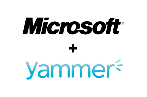 Slide image for Microsoft Yammer acquisition