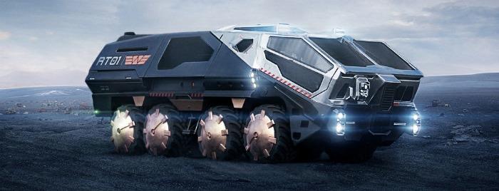 prometheus vehicle