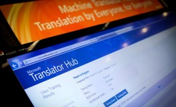 Slide image for Microsoft Translator Hub