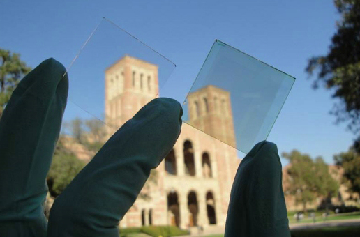 Slide image for UCLA Transparent Solar Cell