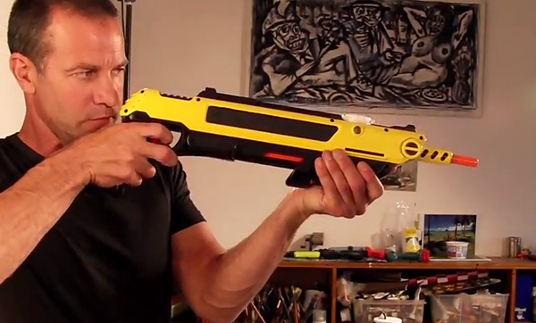 salt firing nerf gun strikes fear into the hearts of insects