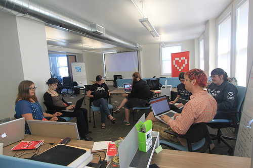 rails girls in action