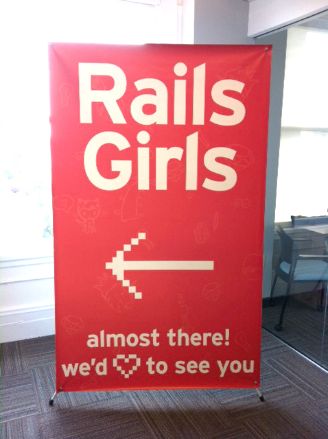 rails girls sign