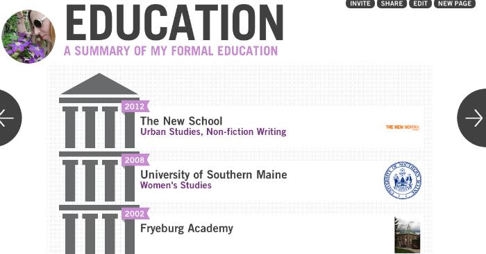 vizify education