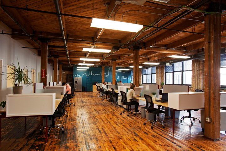 onward coworking desk row
