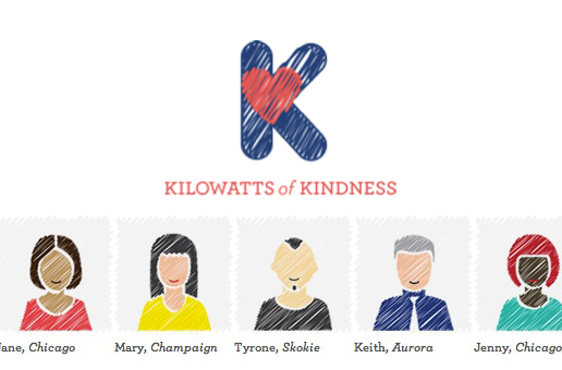 Slide image for Power2Switch's Kilowatts of Kindness initiative