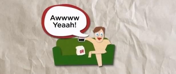 grubhub couch