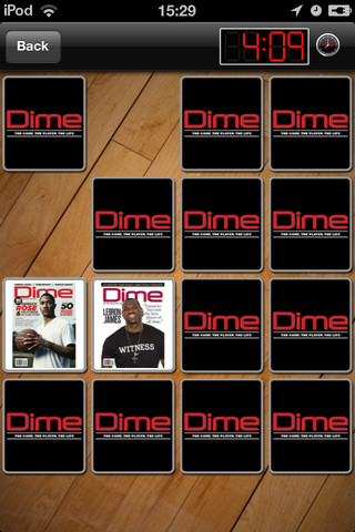 DIME Magazine Memory Matches