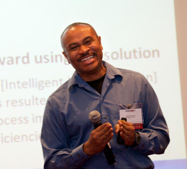 Intelligent Loop Founder and President Antonio Ransom