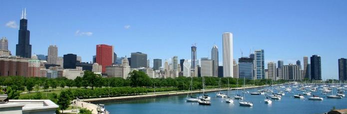 chicago skyline large