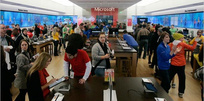 microsoft retail large