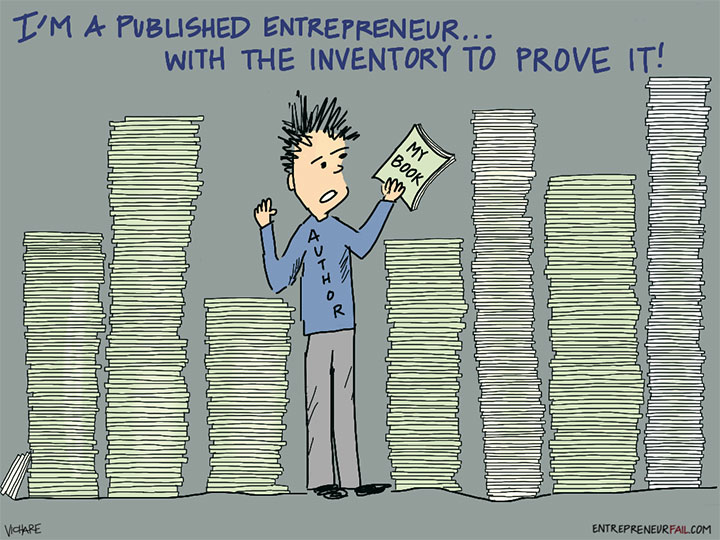 #entrepreneurfail-Published-Author-Inventory