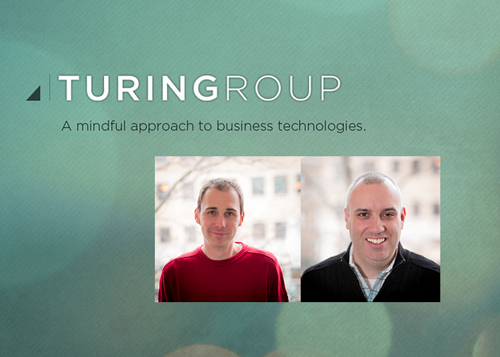 Eric Dynowski (left) and Brendan Caulfield (right) have left Magnetar to form the Turing Group, after recognizing the potential for finance and healthcare companies to use cloud infrastructure.