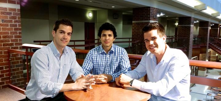 Epro 360 co-founders Galvez, Chavez & Kehrbaum.