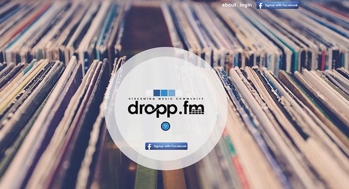 DroppFMLandingPage
